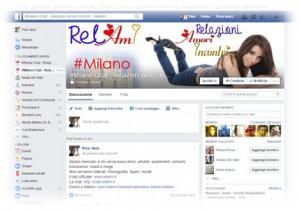 Gruppo Facebook per Milano