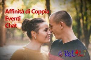 Ricerca per Affinità di Coppia, per poter accedere alla piattaforma di affinità di coppia è necessario registrarsi, la registrazione è gratuita